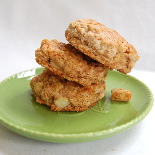 Apple Honey Oatmeal Scones