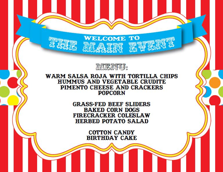 Carnival themed love quotes quotesgram - Carnival party menu ...