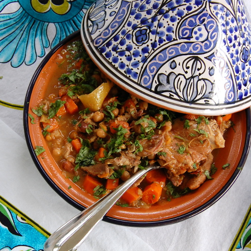 Chicken Tagine Square