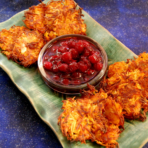 Root Vegetable Latkes